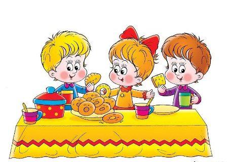 Питание детей в 3-4 года