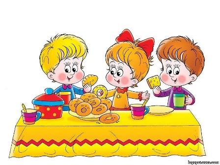 Питание детей в возрасте от 3 до 4 лет
