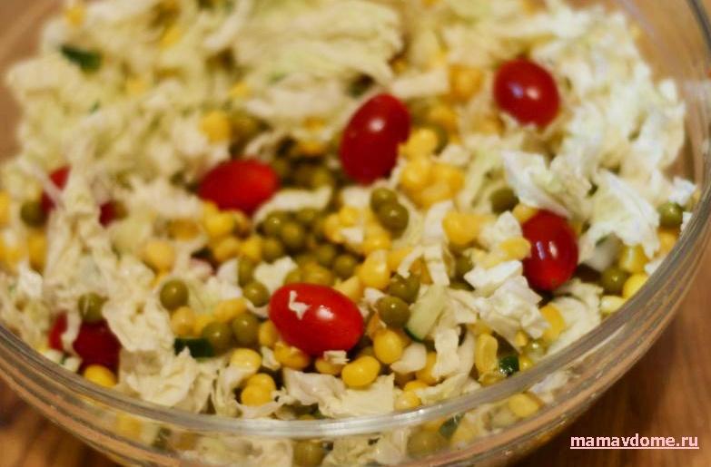 Салат и его рецепты