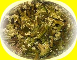 зелёные овощи в питании