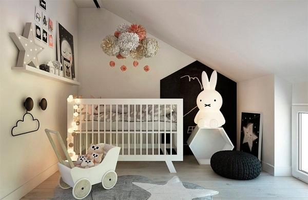 Современное освещение детской комнаты