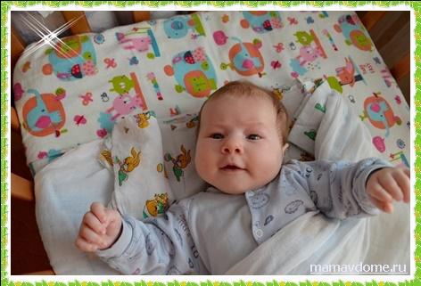 Безопасность ребёнка в кроватке