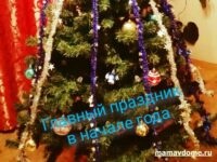Наряжаем ёлку на новый год