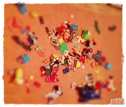 Перфекционист и игрушки
