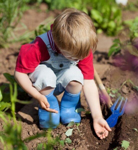 Игры и труд детей