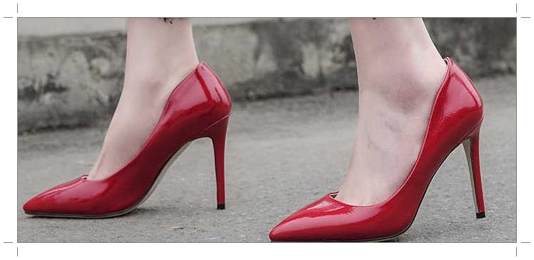 Туфли с заостренными носками