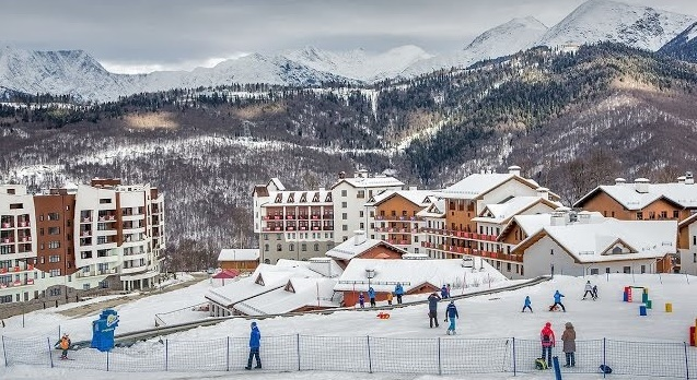 Курорты Красной Поляны: горнолыжный отдых