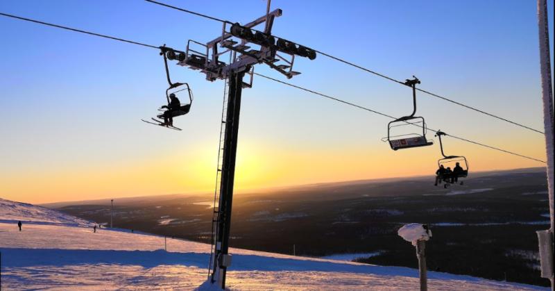 Активный зимний отдых описание горнолыжного сезона Юлляс