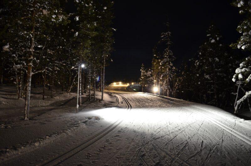 Активный зимний отдых горнолыжный курорт в Леви Финляндии
