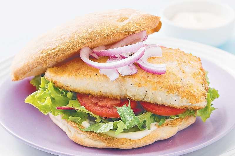 Общие принципы правильного питания Бургер из трески