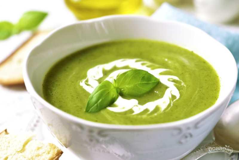 Общие принципы правильного питания человека после 20 лет Суп из зеленого горошка с базиликом