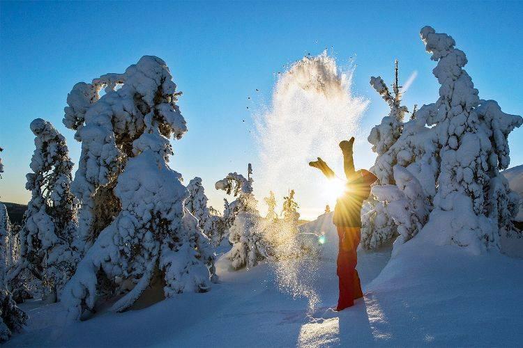 Где лучше отдыхать зимой за границей. Горнолыжный курорт Коли (Koli)