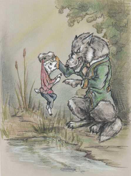 Какая мораль в басне Волк и ягненок. Анализ произведения басни «Волк и ягненок»