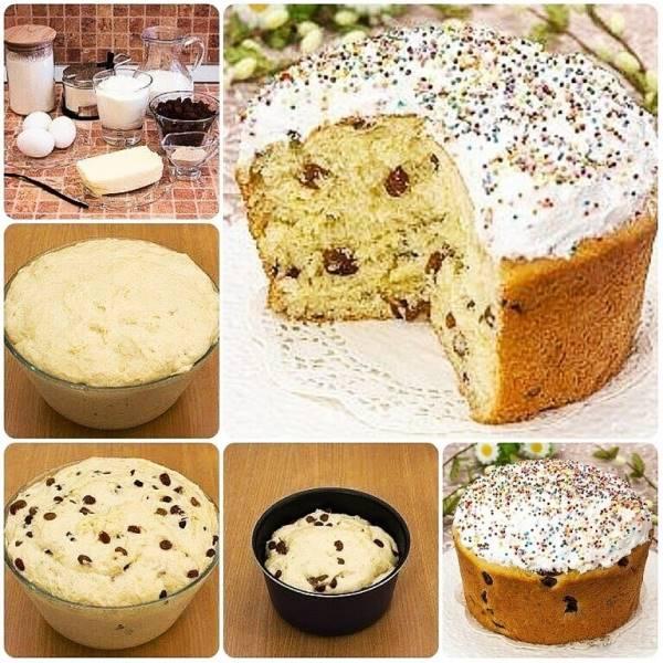 Рецепт кулича пасхального простой и вкусный