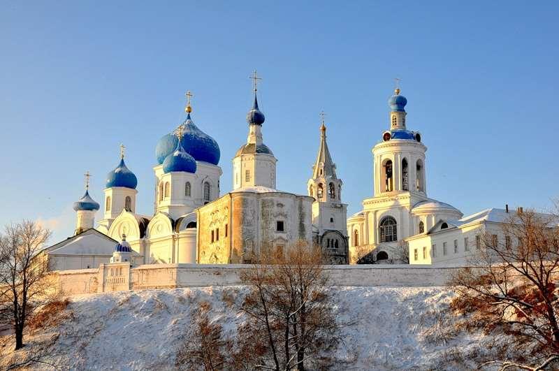 Дворец Андрея Боголюбского под Владимиром