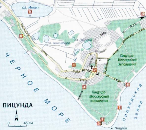 Летний отдых в Пицунде Абхазия. История курорта. Прогулка по Пицунде