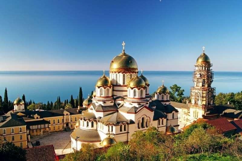 Новый Афон достопримечательности фото и описание. Новоафонский Симоно-Кананитский монастырь