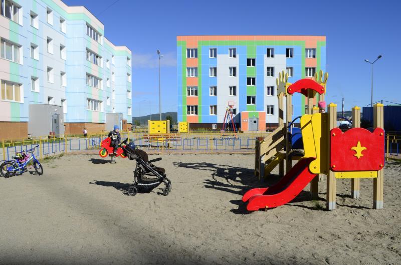 Новые дома на Поморской