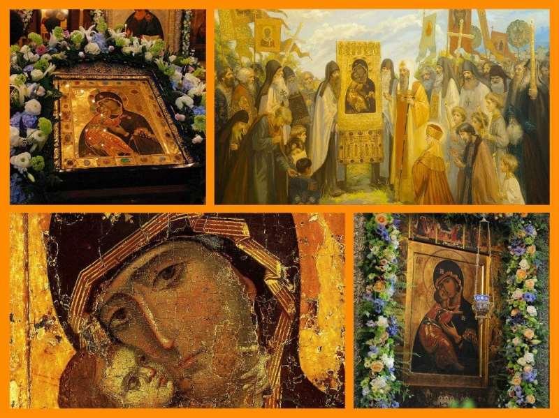 Богоматерь Владимирская чудеса древней иконы