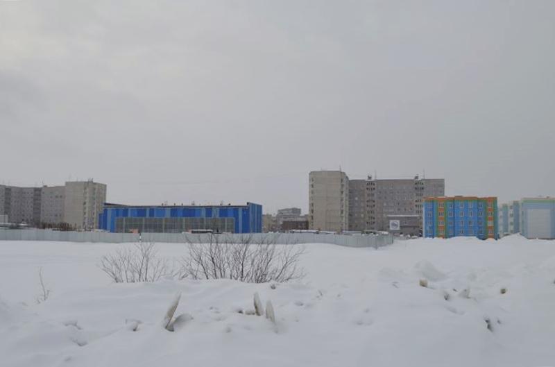 Бассейн в городе Кола стройка