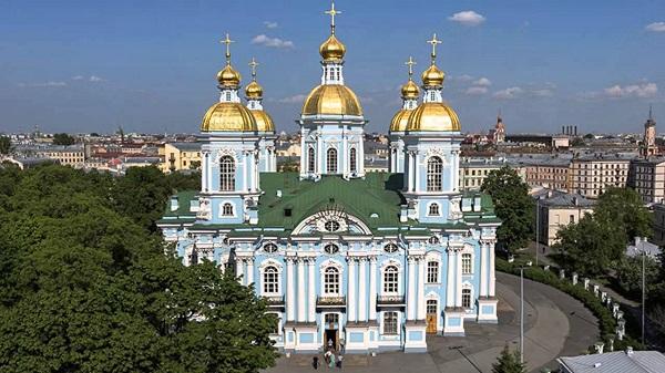 Никольский морской собор в Санкт-Петербурге история