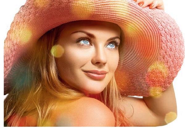 Красивый летний макияж. Как получить красивый загар. Польза солнцезащитных кремов. Маркировка солнцезащитных кремов.