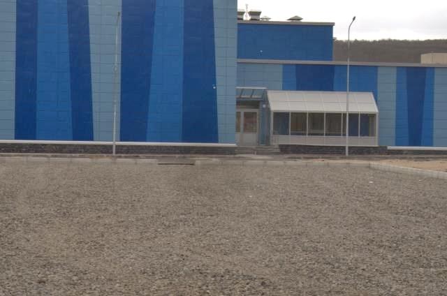 Вид на бассейн Кола с новой парковки